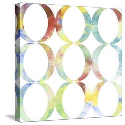 Metric Watercolors V-Jennifer Goldberger-Stretched Canvas Print