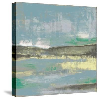 Cool Horizon III-Jennifer Goldberger-Stretched Canvas Print