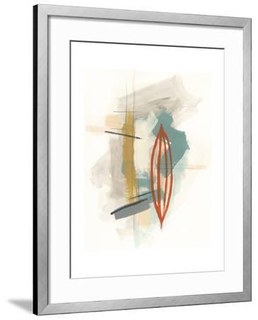 Elements I-June Erica Vess-Framed Art Print