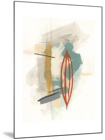 Elements I-June Erica Vess-Mounted Art Print