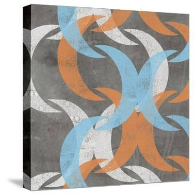 Graphic Wave I-Jennifer Goldberger-Stretched Canvas Print