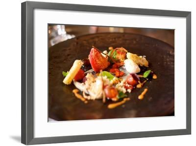 Lunch Starter Dish at a Restaurant in the Woodstock Neighborhood of Cape Town-Krista Rossow-Framed Photographic Print