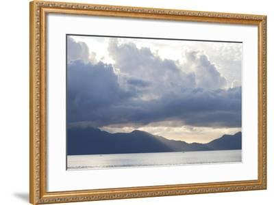 View of Sunset from the Coast of Bako National Park-Gabby Salazar-Framed Photographic Print
