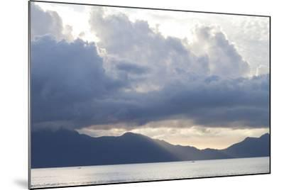 View of Sunset from the Coast of Bako National Park-Gabby Salazar-Mounted Photographic Print