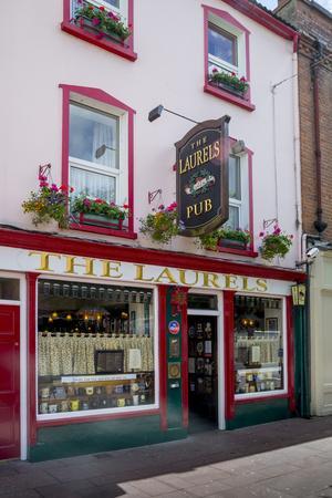 The Laurels Pub in Killarney-Tim Thompson-Premium Photographic Print