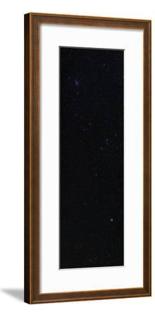 Hydra, with its Only Bright Star, Alphard, and the Beehive Star Cluster, in Cancer-Babak Tafreshi-Framed Photographic Print