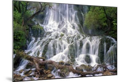 The 85 Meter-High Shevi Waterfall in the Zagros Mountains, in Southwest Iran-Babak Tafreshi-Mounted Photographic Print