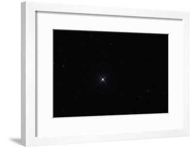 Telescopic View of the North Star or Polaris in Constellation Ursa Minor-Babak Tafreshi-Framed Photographic Print