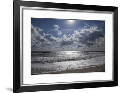 Breaking Surf at Assateague Island National Seashore-Scott Warren-Framed Photographic Print