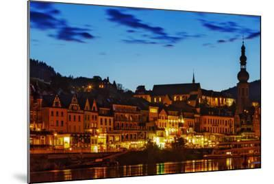 The Town of Cochem Sits on the Bank of the Moselle River-Babak Tafreshi-Mounted Photographic Print
