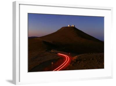 The Cerro Paranal Observatory Sits on a Peak in the Atacama Desert-Babak Tafreshi-Framed Photographic Print