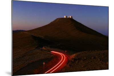 The Cerro Paranal Observatory Sits on a Peak in the Atacama Desert-Babak Tafreshi-Mounted Photographic Print