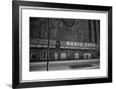 Winter Storm Juno Arrives in New York City-Kike Calvo-Framed Photographic Print