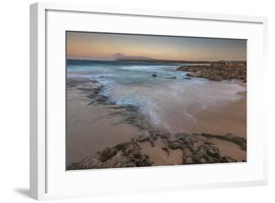 Sandy Shore at Kaehu Point, Mo'Omomi Beach, Nature Conservancy, Molokai, Hawaii-Richard Cooke III-Framed Photographic Print