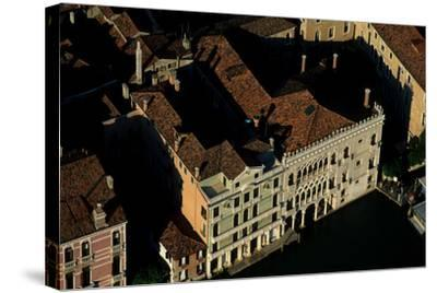 Ca' D'Oro, a Palace on the Grand Canal in Venice-Marcello Bertinetti-Stretched Canvas Print