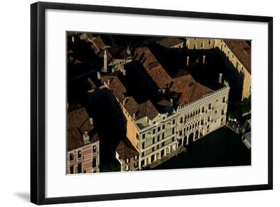 Ca' D'Oro, a Palace on the Grand Canal in Venice-Marcello Bertinetti-Framed Photographic Print