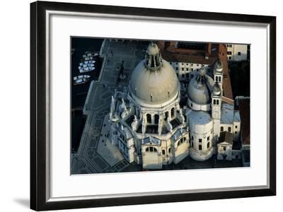 The Punta Della Dogana, a Modern Art Museum in Venice's Old Customs Building-Marcello Bertinetti-Framed Premium Photographic Print