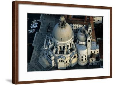 The Punta Della Dogana, a Modern Art Museum in Venice's Old Customs Building-Marcello Bertinetti-Framed Photographic Print