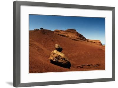 Rock Pinnacles and Eroded Red Earth at the Garden of the Gods-Macduff Everton-Framed Photographic Print
