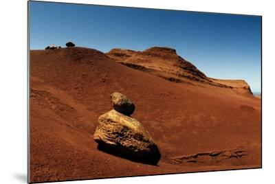 Rock Pinnacles and Eroded Red Earth at the Garden of the Gods-Macduff Everton-Mounted Photographic Print