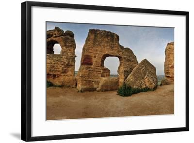 Byzantine Tomb Recesses in the Valley of the Temples-Macduff Everton-Framed Photographic Print