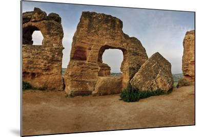 Byzantine Tomb Recesses in the Valley of the Temples-Macduff Everton-Mounted Photographic Print