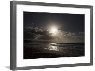 The Sun Sets as the Tide Rolls In-Deanne Fitzmaurice-Framed Photographic Print