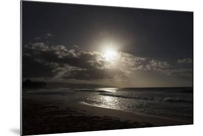 The Sun Sets as the Tide Rolls In-Deanne Fitzmaurice-Mounted Photographic Print