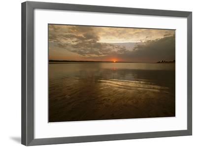 The Sunsets over Calamus Reservoir-Michael Forsberg-Framed Photographic Print