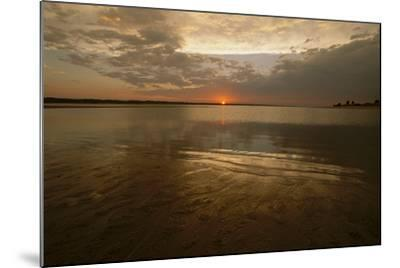 The Sunsets over Calamus Reservoir-Michael Forsberg-Mounted Photographic Print