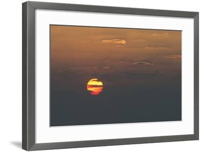 Sunrise over the Indian Ocean-Jeff Mauritzen-Framed Photographic Print