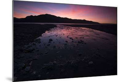 Sunrise Above Lake Hawea and Mount Melina-Michael Melford-Mounted Photographic Print