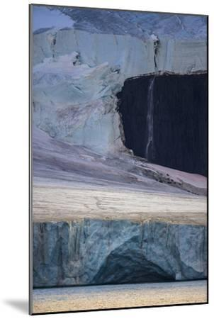 A Glaciated Landscape of Franz Josef Land from a Passing Ship-Cory Richards-Mounted Photographic Print