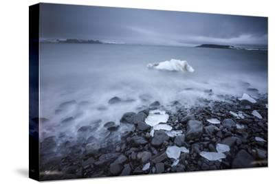 Sea Ice Off Hooker Island-Cory Richards-Stretched Canvas Print