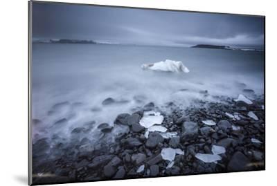 Sea Ice Off Hooker Island-Cory Richards-Mounted Photographic Print