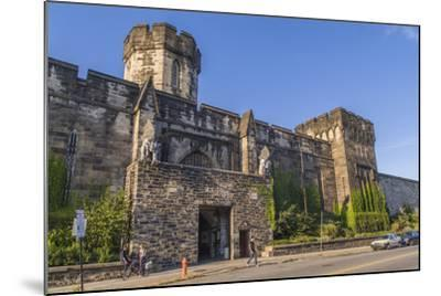 The Gothic Style Eastern State Penitentiary Built in the Early 19th Century in Philadelphia-Richard Nowitz-Mounted Photographic Print