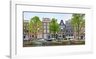 Houses on the Brouwersgracht, Amsterdam, North Holland, Netherlands--Framed Photographic Print