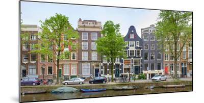 Houses on the Brouwersgracht, Amsterdam, North Holland, Netherlands--Mounted Photographic Print