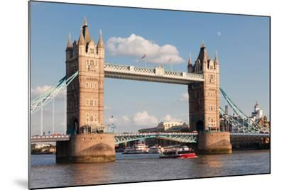 Tower Bridge, Thames River, London, England--Mounted Photographic Print