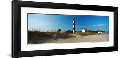 Cape Lookout Lighthouse, Outer Banks, North Carolina, Usa--Framed Photographic Print