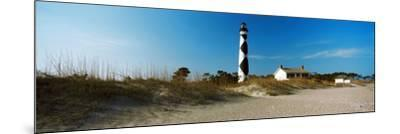 Cape Lookout Lighthouse, Outer Banks, North Carolina, Usa--Mounted Photographic Print