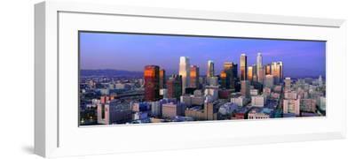 Skyline, Los Angeles, California--Framed Photographic Print