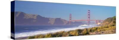 View of the Golden Gate Bridge, San Francisco, California, Usa--Stretched Canvas Print