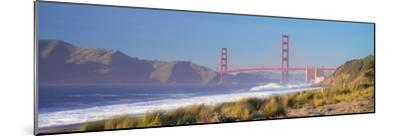 View of the Golden Gate Bridge, San Francisco, California, Usa--Mounted Photographic Print
