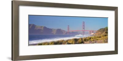 View of the Golden Gate Bridge, San Francisco, California, Usa--Framed Photographic Print