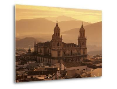 Jaen Cathedral at Sunset, Jaen, Andalucia, Spain-Stuart Black-Metal Print