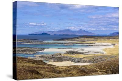 Sanna Beaches, Ardnamurchan Peninsula, Lochaber, Highlands, Scotland, United Kingdom-Gary Cook-Stretched Canvas Print