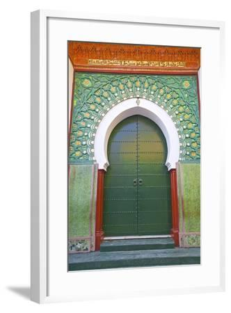 Entrance to Mosque, Tangier, Morocco, North Africa, Africa-Neil Farrin-Framed Photographic Print