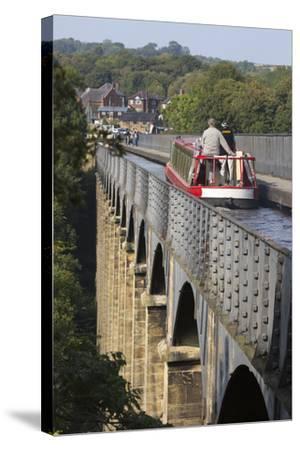 Pontcysyllte Aqueduct, Built 1795 to 1805, and the Ellesmere Canal-Stuart Black-Stretched Canvas Print