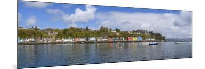 Tobermory Harbour, Isle of Mull, Inner Hebrides, Argyll and Bute, Scotland, United Kingdom-Gary Cook-Mounted Photographic Print